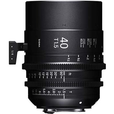 Sigma Cine 40mm T1.5 FF Lens - Canon Mount