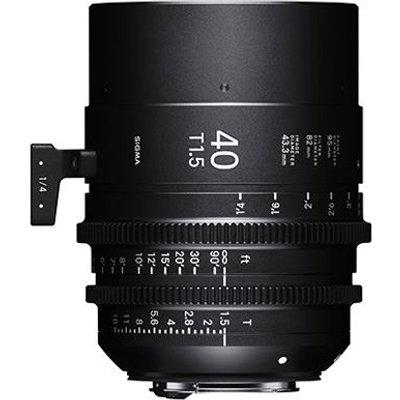 Sigma Cine 40mm T1.5 FF Lens - Sony Mount