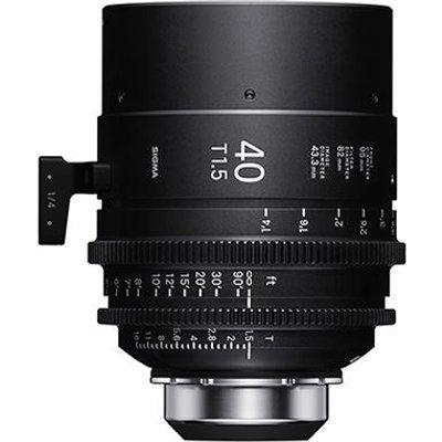 Sigma Cine 40mm T1.5 FF Lens - PL Mount