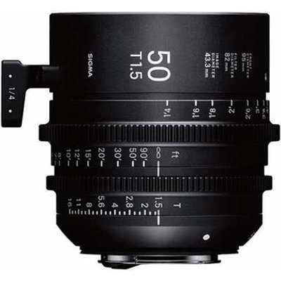 Sigma Cine 50mm T1.5 FF Lens - Sony Mount