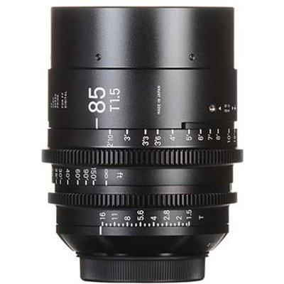 Sigma Cine 85mm T1.5 FF Lens - Canon Mount