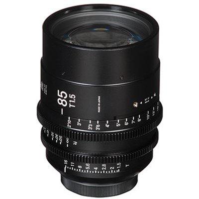 Sigma Cine 85mm T1.5 FF Lens - Sony Mount