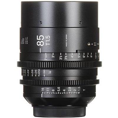 Sigma Cine 85mm T1.5 FF Lens - PL Mount