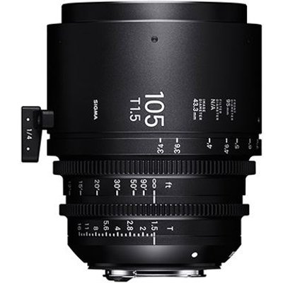 Sigma Cine 105mm T1.5 FF Lens - Canon Mount
