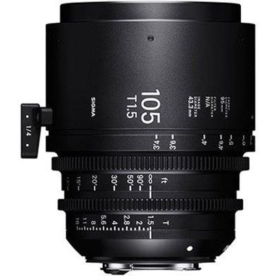 Sigma Cine 105mm T1.5 FF Lens - Sony Mount