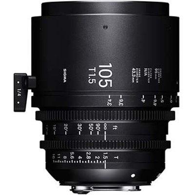 Sigma Cine 105mm T1.5 FF Lens - PL Mount