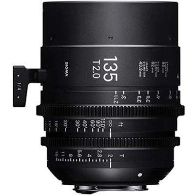 Sigma Cine 135mm T2 FF Lens - Canon Mount
