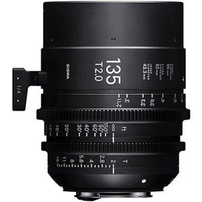 Sigma Cine 135mm T2 FF Lens - PL Mount