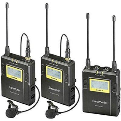 Saramonic UwMic9 TX9 TX9 RX9 UHF Wireless Mic Lav Sys - 4897040885928
