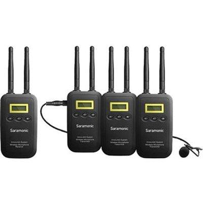 Saramonic VmicLink5 TX TX TX RX 5 8GHz Wireless Lav Mic Sys - 4897040886888