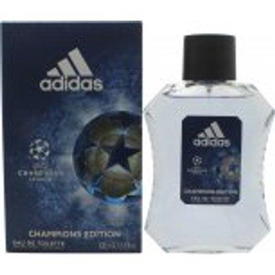 Adidas UEFA Champions League 4 Eau de Toilette 100ml Spray - 3614223936793