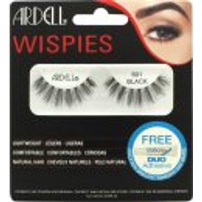 Ardell Wispies Clusters False Eyelashes   601 Black - 0074764652379