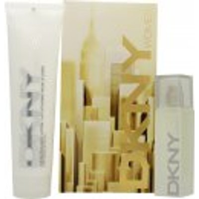 DKNY Energizing Gift Set 30ml EDP   150ml Body Lotion - 0022548362662