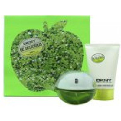 DKNY Be Delicious Gift Set 50ml EDP   100ml Body Lotion - 0022548314296