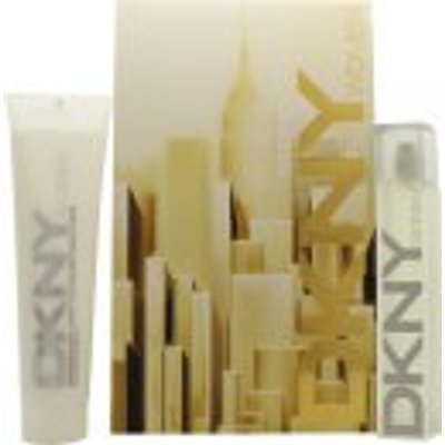 DKNY Energizing Gift Set 50ml EDP   150ml Body Lotion - 0022548190173