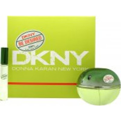 DKNY Be Desired Gift Set 100ml EDP   10ml EDP Rollerball - 0022548359969