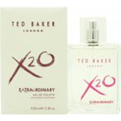 Ted Baker X20 Extraordinary for Women Eau de Toilette 100ml Spray - 5060412674386