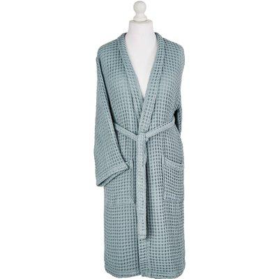 Murmur Waffle Bath Robe - Large/Extra Large, Eucalyptus