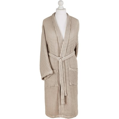 Murmur Waffle Bath Robe - Large/Extra Large, Linen