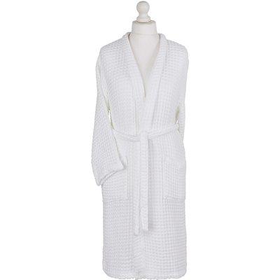 Murmur Waffle Bath Robes, White