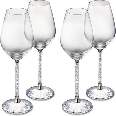 Swarovski Crystalline Red Wine Glasses (Set of 4)