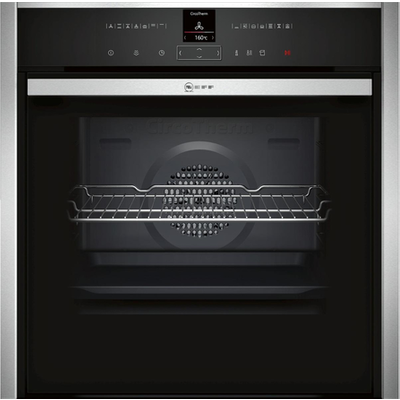 Neff B25CR22N1B EasyClean Pyrolytic Single Electric Oven in Stainless Steel - 4242004197270