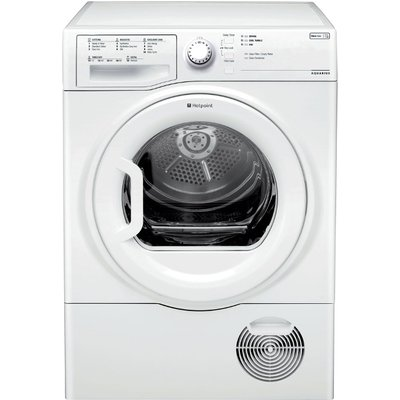 Hotpoint TCFS83BGP Condenser Tumble Dryer  8kg Load  B Energy Rating  White - 5016108851661