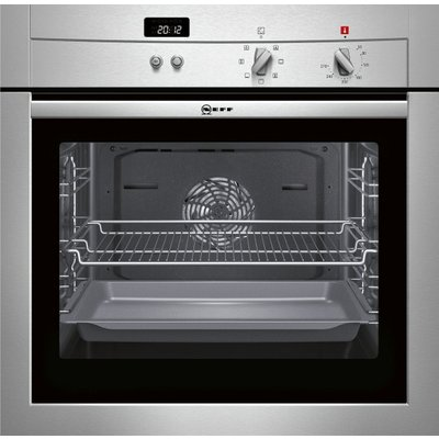 4242004156833 | Neff B14M42N3GB single ovens  in Stainless Steel
