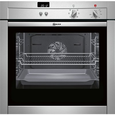 Neff B44M42N3GB Built In Electric Single Oven   Stainless Steel - 4242004156826