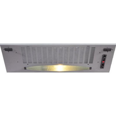 CDA CCA5SI 52cm Canopy Hood in Silver with With 5Yr Parts Guarantee - 5060143311345