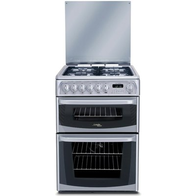 5016108810316 | Hotpoint Cannon CH60DHSFS 60cm Dual Fuel Cooker in Silver with FSD