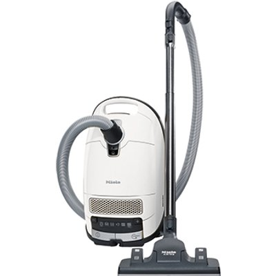 Miele Complete C3 Silence Ecoline Plus Bagged Cylinder Vacuum Lotus White 10155320 - 4002515598528