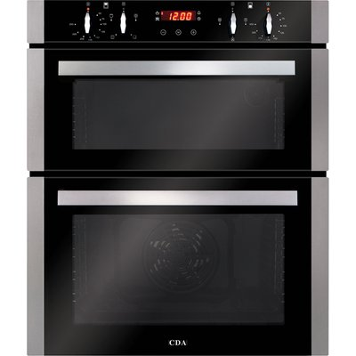 CDA DC740SS Built Under Double Electric Oven in Stainless Steel - 5060143319471