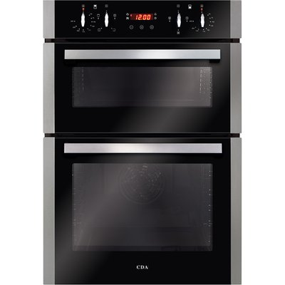 CDA DC940SS Built In Electric Double Oven in Stainless Steel - 5060143319488
