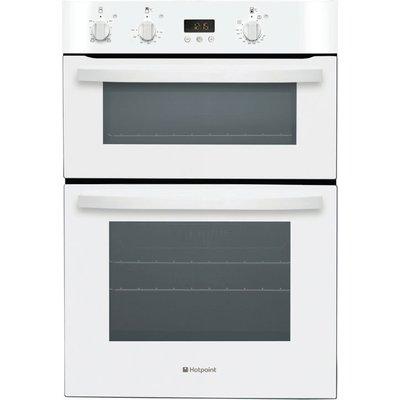 Hotpoint DH53WS 60cm Wide Built In Electric Double Oven in White - 5016108805305