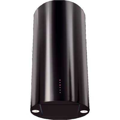 5060143311819 | CDA EVC4BL 40cm Cylinder Chimney Hood in Black With 5Yr Parts Guarantee
