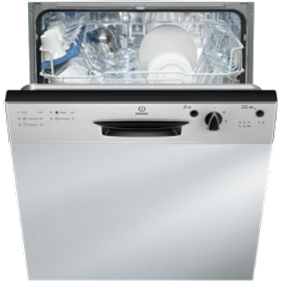 8007842840469 | Indesit DPG15B1NX Semi Integrated Dishwasher   Silver