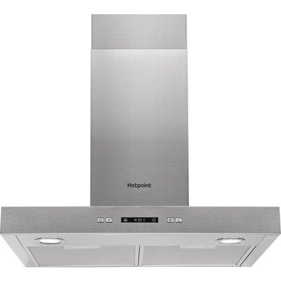 Hotpoint PHBS67FLLIX Built in Cooker Hood in Stainless Steel - 5016108949948