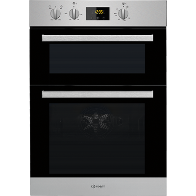 Indesit IDD6340IX Electric Double Built in Oven - 8050147029374