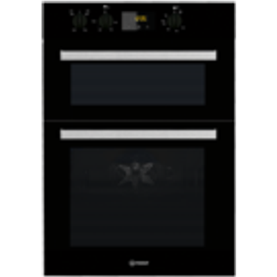8050147029381 | Indesit IDD6340BL Electric Double Built in Oven