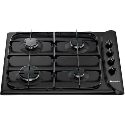 Hotpoint G640SK   Style   60cm Gas Hob in Black - 5016108554128