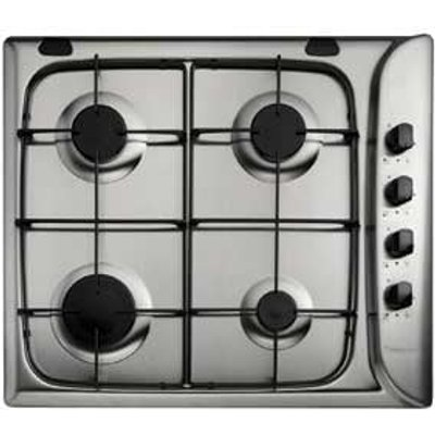 Hotpoint G640SX 4 Burner Gas Hob   Stainless Steel - 5016108532331