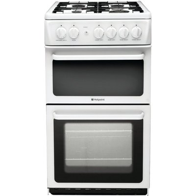Hotpoint HAG51P Gas Cooker  White 5016108623527