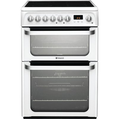 Hotpoint HUE61PS Electric Cooker  White - 5016108810224