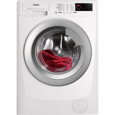 AEG L68470VFL 7Kg Washing Machine in White with 1400rpm Spin - 7332543411702