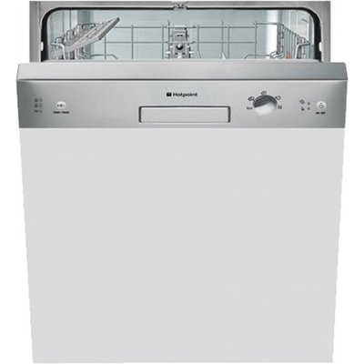 Hotpoint LSB5B019X Semi Integrated Dishwasher  with 13 Place Settings - 5016108829080