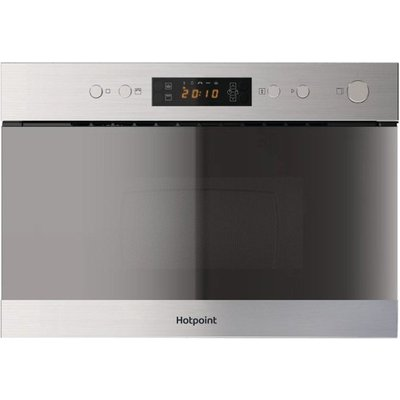 Hotpoint MN314IXH Built in Microwave with Grill  Stainless Steel - 5016108966891