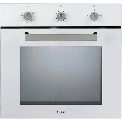 CDA SG120WH 60cm Gas Single Oven in White with Free 5Yr Parts 2Yr Labour Guarantee via Registration - 5055833400317
