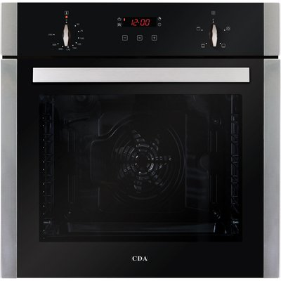 CDA SK210SS 60cm Multifunctional Electric Fan Oven in Stainless Steel with Free 5Yr Parts 2Yr Labour Guarantee via Registration - 5055833402229