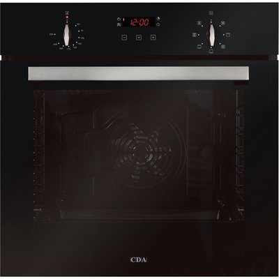 CDA SK310BL 60cm Multifunctional Elecric Oven in Black with Free 5Yr Parts 2Y Labour Guarante via Registration - 5055833402304